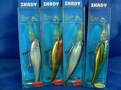 4 minnow Shady by Luciano Cerchi 150mm 25gr deep runner spinning fiume mare A30