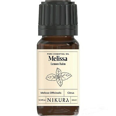 10ml MELISSA (LEMON BALM) ESSENTIAL OIL - 100% Pure and Natural (Aromatherapy)