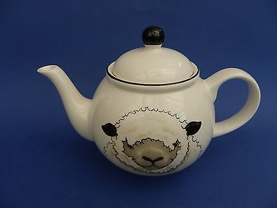 Arthur Wood Back to Front Sheep 6 Cup Teapot.