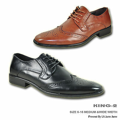 BRAVO Men Dress Shoe KING-2 Classic Oxford with Leather Lining