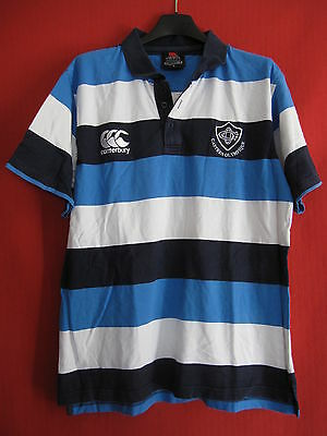 Polo Rugby CASTRES Olympique Canterbury vintage Maillot - L