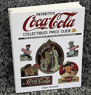 "Coca-Cola Collectibles Petretti's Price Guide 11th Edition 2001 size 11"" x 9"""