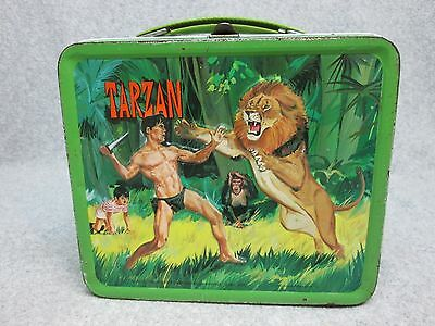 1960 TARZAN Tv LUNCHBOX King of the Jungle C#8