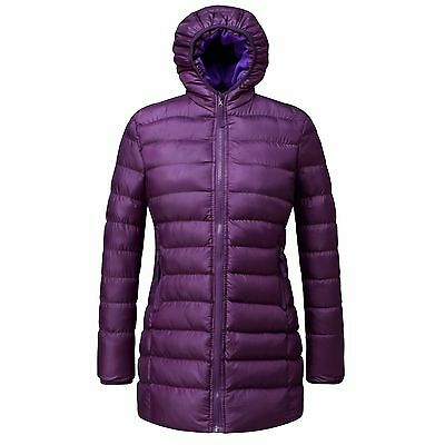 2016 Girls Classic puffer winter parka coat Long maxi outerwear quilted jacket
