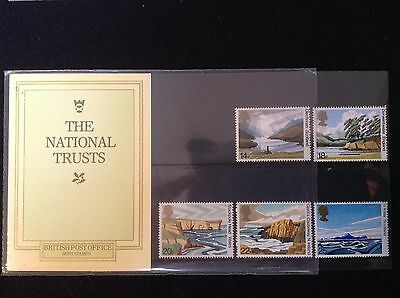 GB Royal Mail 1981 Presentation Pack #127 NATIONAL TRUSTS - Low S&H