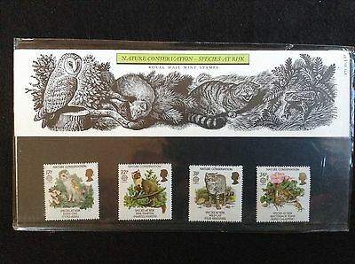 GB Royal Mail 1986 Presentation Pack #171 CONSERVATION - Low S&H
