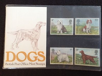 GB Royal Mail 1979 Presentation Pack #106 DOGS - Low S&H
