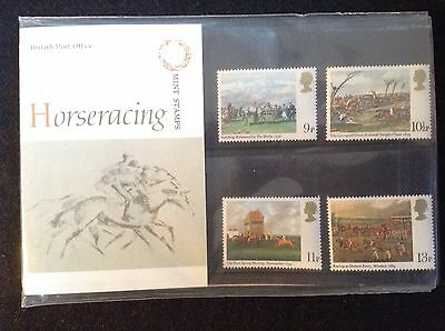 GB Royal Mail 1979 Presentation Pack #109 HORSERACING - Low S&H