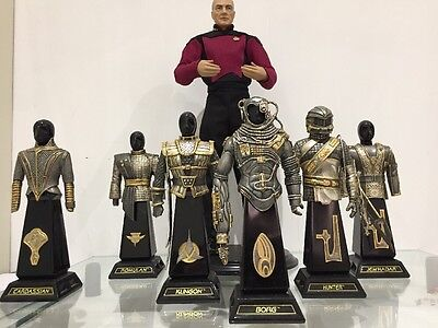 Star Trek Armor Of The Galaxy Collection Franklin Mint