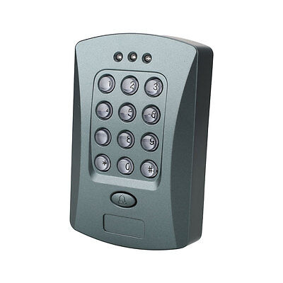 125KHz RFID Password Access Control System Security Electric Lock Exit V2000-C