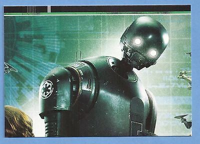 Topps Star Wars Rogue One Karte Nr.112