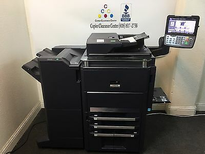 Kyocera TASKalfa 7550ci Copier Printer Scanner Fax Finisher low meter 388k 75PPM