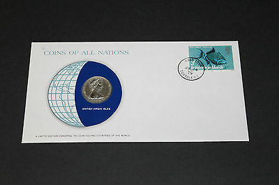 British Virgin Islands Coins Of All Nations 1979 25 Cent Coin Unc