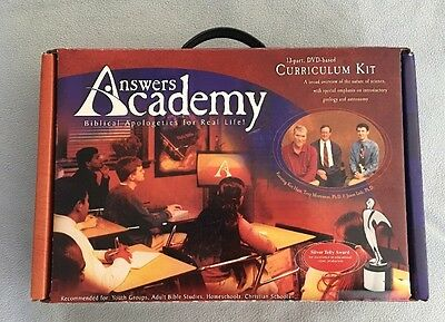 Answers Academy 13 Part Dvd Based Curriculum Kit