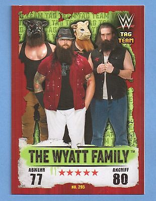 Topps WWE Slam Attax Takeover Karte Nr.295 The Wyatt Family