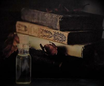 OLD GRIMOIRE Anointing Oil Ritual Oil Elixir Blessing Oil ~ Wicca Witchcraft