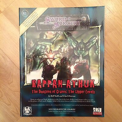 RPG Sourcebook: d20 Sword & Sorcery - Rappan Athuk: The Dungeon Of Graves