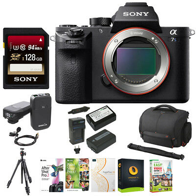 Sony Alpha a7SII Mirrorless Digital Camera (Body Only) + Accessory Kit