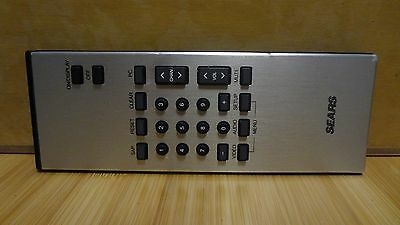 Vintage Sears Remote Control! Not sure if its TV, VCR, Stereo?