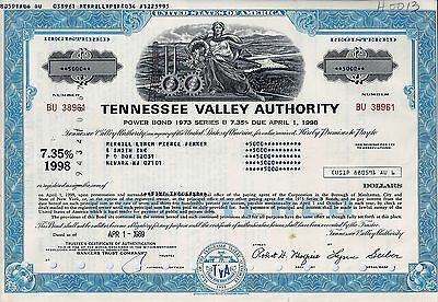 Tennessee Valley Authority, 1989, 7,35% Power Bond Ser. B due 1998  (5.000$)