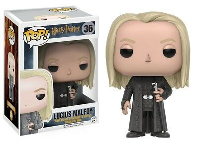 Funko - POP Harry Potter: Lucius Malfoy Vinyl Figure #36