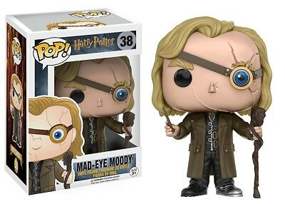 Funko - POP Harry Potter: Mad-Eye Moody Figure #38