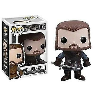 Funko - Game of Thrones Ned Stark Pop! Vinyl Figure #02 New In Box