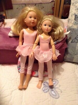 Zapf Jolina Doll & sister Annabell RETIRED SALE