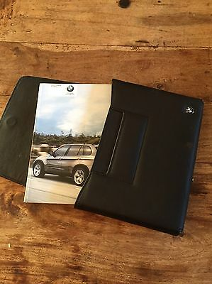 BMW X5  2007-2013 Instruction Manual And Book Pack