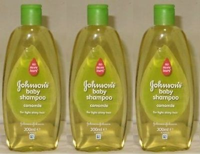 Johnson's Baby Shampoo No More Tears with Chamomile for Light Shiny Hair 10.1...