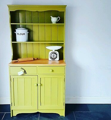 VINTAGE Little Greene Upcycled PAINTED FARMHOUSE pine DRESSER