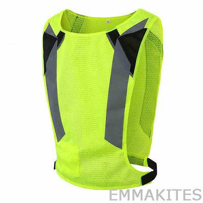 Professional Reflective Vest for Cycling Ultralight in 1.7oz Outdoor Night Sport
