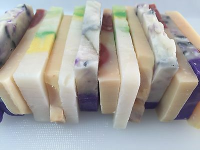 200g Handmade Natural Guest Soap Slices (10 bars)  - Sydney Post