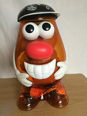 Hasbro Mr Potato Head 2002 large storage container figure with 42 pieces