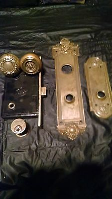 """Antique Entry Set, Russell and Irwin, """"Grenelee"""""""