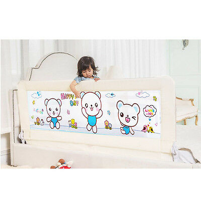 1.5m/1.8m Child Safety Bed Rail Toddler Baby Bedrail Fold Cot Guard Protection