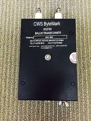 Balun 12:1 For 50 ohms Input and 600 ohms output. Jerry Sevick W2FMI Series