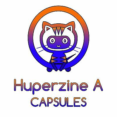 Huperzine A - Capsules 200mcg x 30. Lucid Dreams,Increase Memory,Neuroprotective