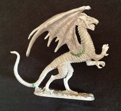 Ral Partha TSR 10-512 White Dragon Dungeons & Dragons AD&D Winged Monster OOP