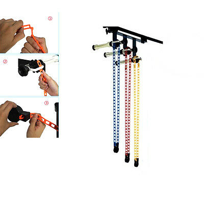 3 Roller Wall / Ceiling Mount Backdrop Background Manual Support System