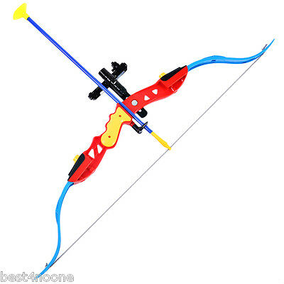 Small Size Bow and Arrow Shooting Set Indoor Outdoor Game Simulation Model Toy