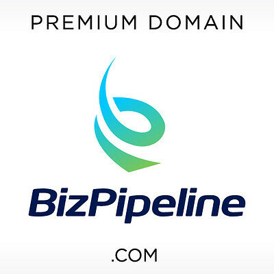BizPipeline .COM Domain Name for Sale Premium Brand Business Brandable Catchy