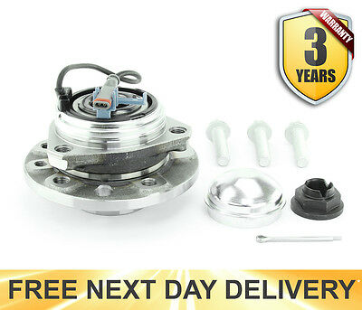 VAUXHALL ASTRA H Mk5 FRONT WHEEL BEARING KIT &ABS 2004-2010 NEW 3 YEARS WARRANTY