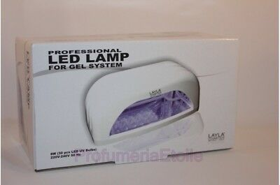 Layla Fornetto Layla Professional Led Lamp For Gel System Lampada Per Unghie