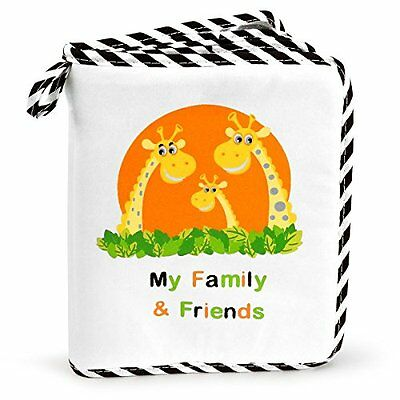 NEW! Baby's My Family & Friends First Photo Album - Cute Giraffe Family T...