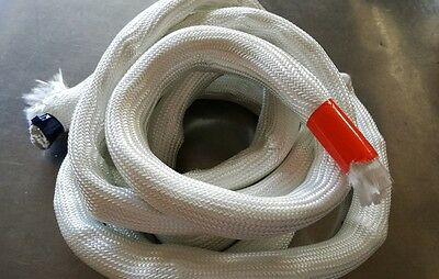Heat Resistant Stove Fire Rope for Wood Burning Stove Doors color White