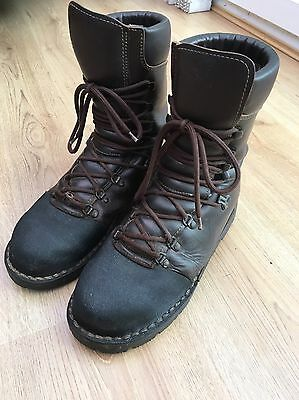 Chainsaw Boots Brown Tre Emme Size 42/8