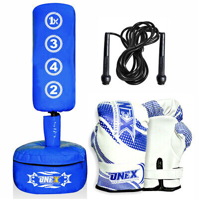 New Bag Free Standing Punch Boxing Heavy MMA Kick Martial Art Stand Training
