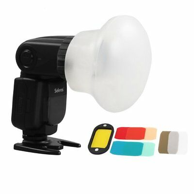 Selens Magnetic Flash Modifier Sphere Diffuser Filter Gel Fr Canon YongNuo Flash