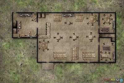 Dungeons and Dragons - Inn of the Welcome Wench Game Mat